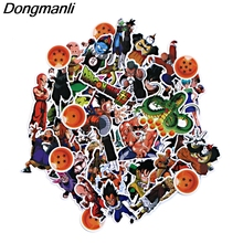 PC44 56pcs Dragon Ball z Scrapbooking Stickers Decal For for Guitar Laptop Luggage Car Fridge Graffiti Sticker 56pcs waterproof sunscreen pvc retro decal labels funny removable car fridge luggage suitcase travel graffiti stickers