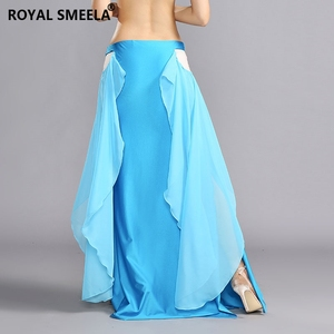 Image 5 - ROYAL SMEELA 2020 New design Women sexy Belly Dance Skirt Belly Dancing clothes female professional belly dance Costumes 119075