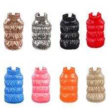 Classis Pet Dog dół kurtki dla małych psów zima kot pies ubrania dla Yorkshire shih tzu płaszcz odzież dla szczeniąt ubranko dla psa