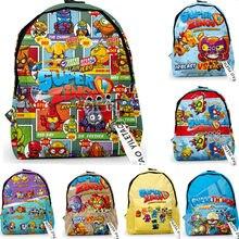 2021 crianças meninos meninas superzings escola saco mochilas estudantes crianças super zings desenhos animados anime jardim de infância pequena mochila