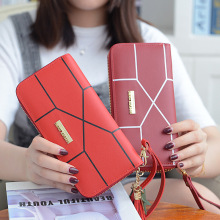 Women 2019 New female Fashion Korean version of the small bag simple 100 wallets fashion envelope lady holds