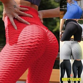 Women's Fashion Seamless Leggings Ladies Athleisure Sportswear Sweat Pants Trousers High Waist Solid Fitness Leggings