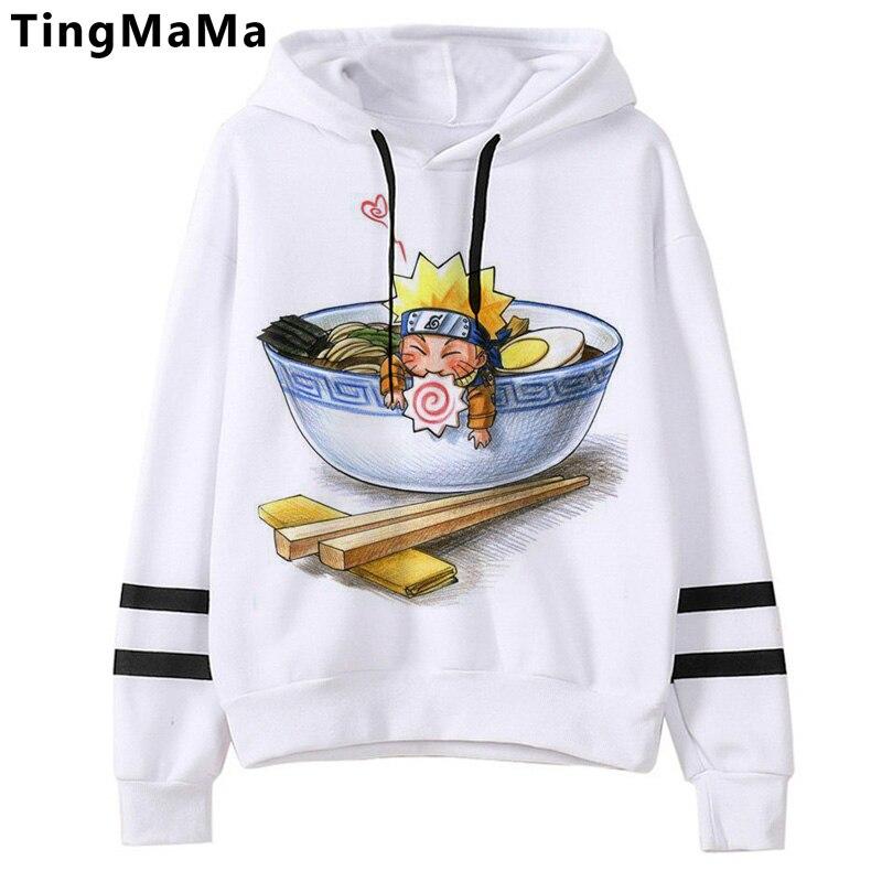 Naruto Akatsuki Graphic Hoodies Men Kawaii Hot Japanese Anime Streetwear Harajuku Warm Winter Autumn Cartoon Sweatshirts Male