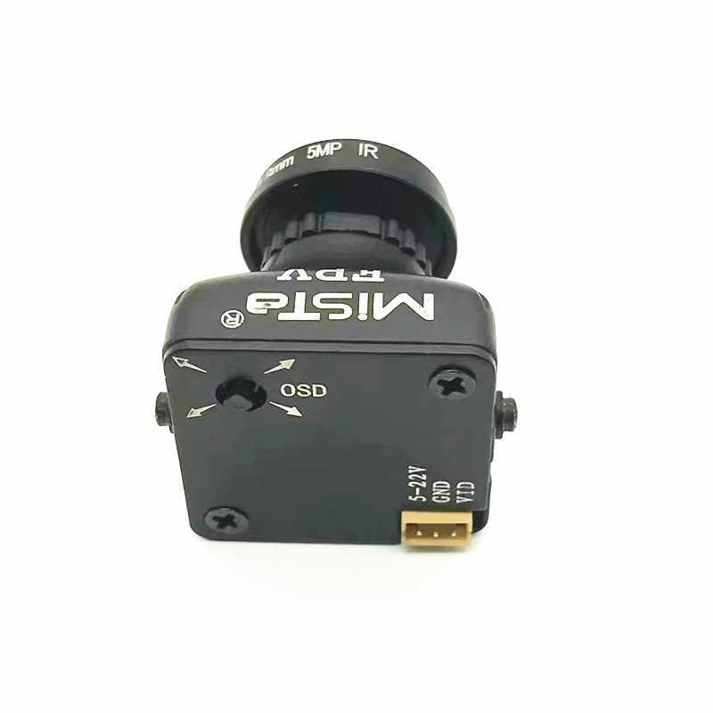 Mise à niveau de la caméra grand Angle HD 2.1 P/5MP 16:9 OSD FPV 1080mm CCD Mista 800TVL/2000TVL commutable pour Drone modèle RC