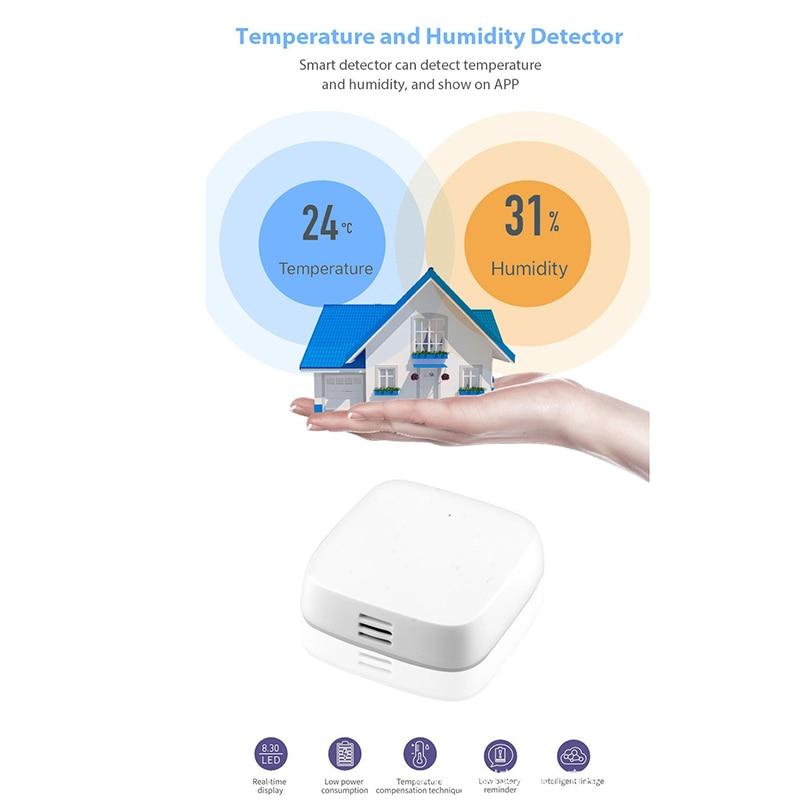 Zigbee Gateway Wifi Switch Zigbee Sensor Extension Monitoring Temperature Humidity Probe Timer For Google Home Alexa