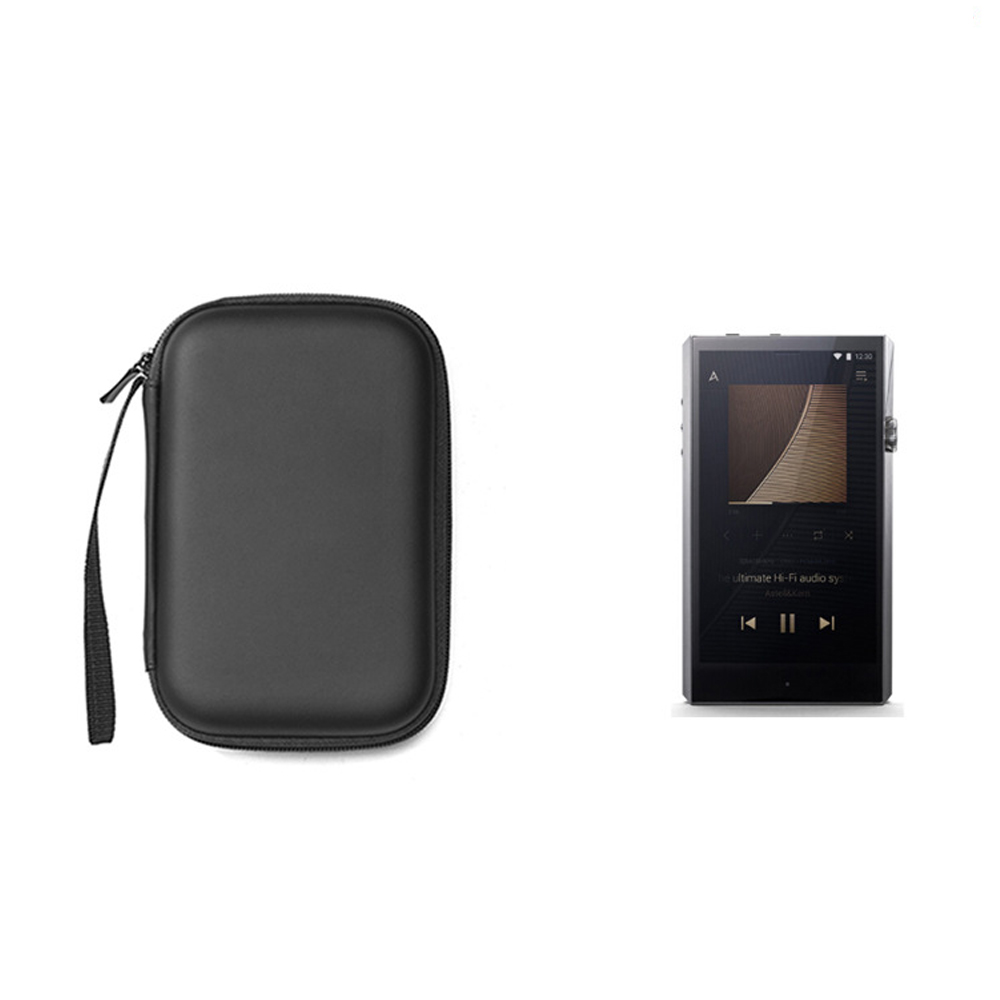Portable Music Player Case Earphone Cables MP3 Protective Bag For iBasso DX220 AK380 M2X Durable Carrying Storage Box image