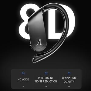 Image 3 - Caletop auriculares TWS, inalámbricos por Bluetooth, auriculares para correr, auriculares HiFi con sonido 8D, Emparejamiento automático, reducción de ruido inteligente