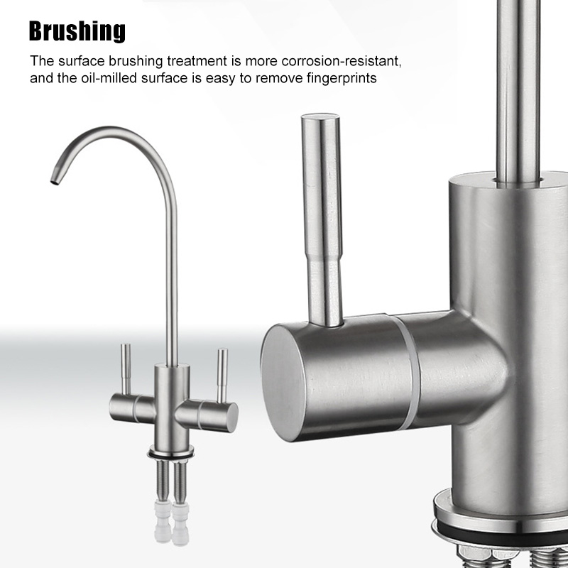 Faucet Tap Stainless Steel 360 Degree
