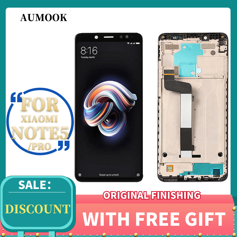GRADE <font><b>5</b></font>.99 inch for <font><b>xiaomi</b></font> <font><b>redmi</b></font> <font><b>note</b></font> <font><b>5</b></font> <font><b>display</b></font> Premium Quality <font><b>touch</b></font> <font><b>screen</b></font> Digitizer Assembly for <font><b>redmi</b></font> <font><b>note</b></font> <font><b>5</b></font> <font><b>pro</b></font> <font><b>lcd</b></font> <font><b>display</b></font> image