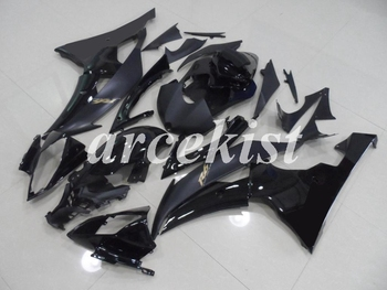 New ABS Motorcycle Full Fairings Kit Fit For YAMAHA YZF-R6 2008 - 2016 08 09 10 11 12 13 14 15 16 body set Black
