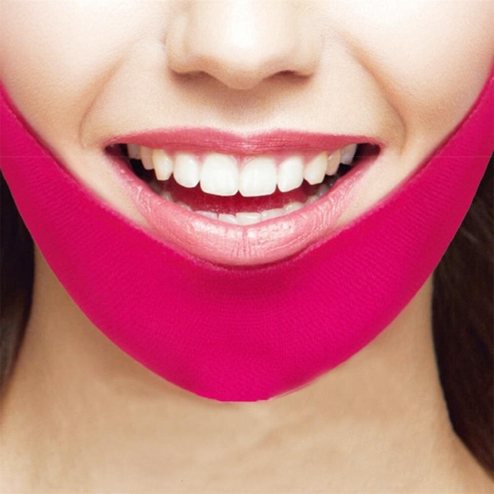 V Shape Mask Face Firming Mask Chin Facial Lifting Mask Wrinkle Massage Shaper V Line Mask Slimming Beauty Skin Care Tool Lady