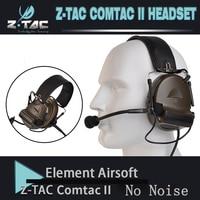 Z tac 戦術 comtac II peltor ヘッドフォンなしノイズリダクション機能通信イヤホン 2018 新バージョン Z151 -