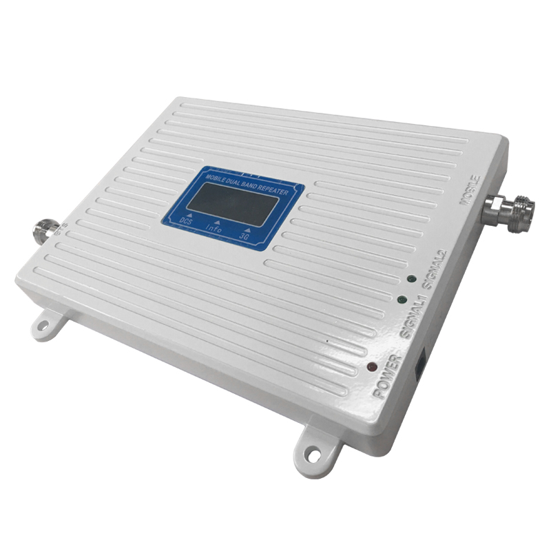 Image 2 - DCS 1800 WCDMA UMTS 2100 Dual Band Cell Phone Cellular Signal Repeater Amplifier  Mobile Phone Signal Booster  for 2g 3g 4g-in Signal Boosters from Cellphones & Telecommunications