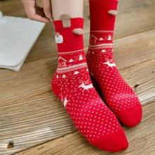 New Arrival Carnival Kawaii Womens Winter Socks Women Cotton Multi-Color