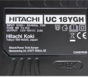 Image 3 - 新220 240v充電器UC18YGH日立UC18YG EB914S FEB12S EB1214L EB1214S EB12B EB1414S EB14B EB1424 EB1812S BCC715 BCC915