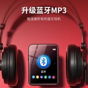 Image 2 - Originale BENJIE X1 16GB/32GB Mini MP3 Lettore Bluetooth 1.8nches Completa Dello Schermo di Tocco di Lettore Musicale Portatile bluetooth con la Cuffia