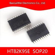 5 pièces HT82K95E 20SOP 48SSOP IC puce composants électroniques Circuits intégrés USB multimédia clavier encodeur 8 bits OTP MCU