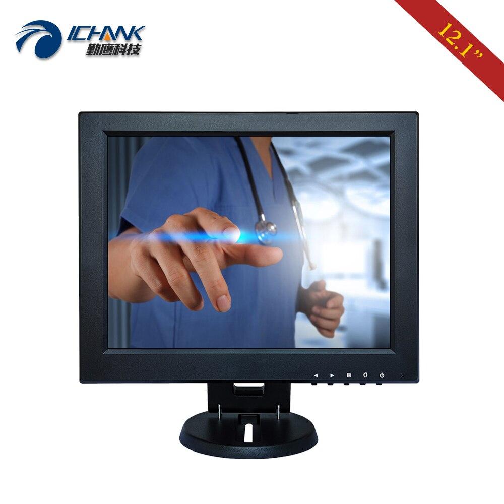 B120JC ABHUV 2/12 1024x768 4:3 tela padrão usb vga hdmi monitor de toque do pc/12.1 ordenando tela de toque resistive da máquina da posição