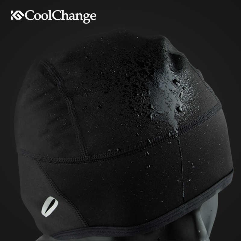 CoolChange bisiklet kapaklar rüzgar geçirmez kış termal bisiklet kapaklar kar yol bisiklet spor bisiklet şapka bisiklet ekipmanları erkekler kadınlar için
