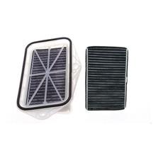 3 delik kabin filtresi Vw Sagitar için CC Passat Magotan Golf Touran audi Skoda Octavia harici hava filtresi