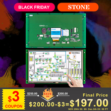 Beijing stone 3.5 RS232/RS485/TTL/USB interface lcd display with Cortex CPU and high brightness tft module