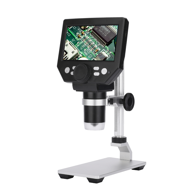 G1000 4.3 Inch LCD Display Digital Electronic Digital Microscope Camera 8MP 1000X Soldering Microscope Magnifier