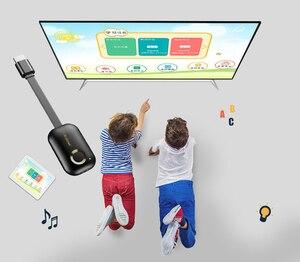 Image 4 - 2.4G veya 5G HDMI kablosuz WiFi ekran Video adaptörü HDTV çubuk döküm bağlantı yansıtma iPhone iOS Android için telefon TV projektör