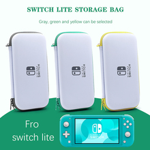 Portable Storage Carry Bag For Nintend Switch Lite Console Mini Hand StrapBox Case With Card Slots For Switch Lite Accessory