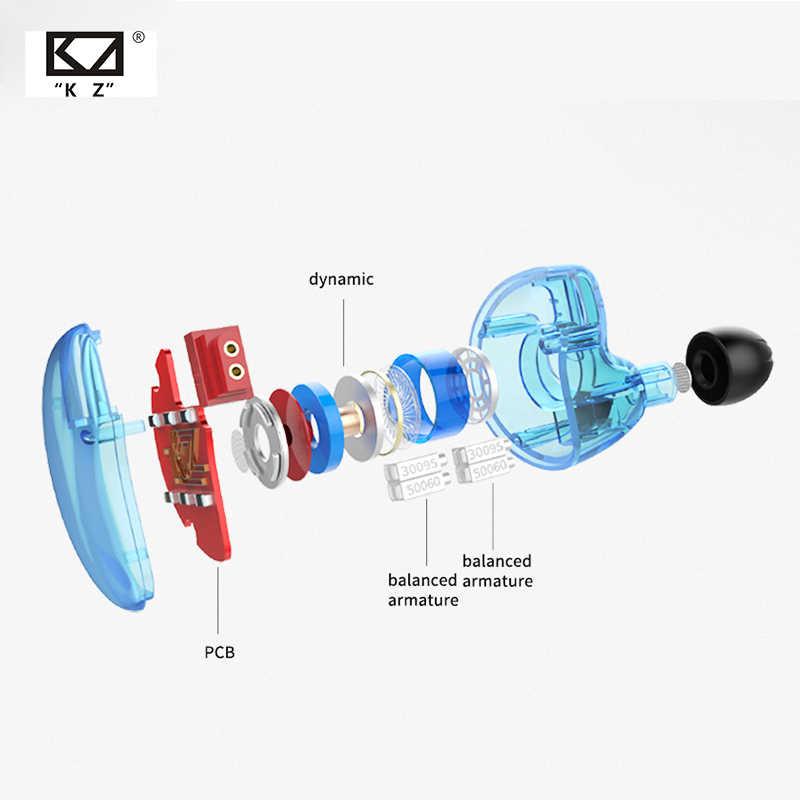 KZ ZS10 4BA с динамическим гибридным наушником в ухо HIFI Monito спортивные наушники для бега гарнитура вкладыши KZ ZSN/AS10/AS06 CCA C10