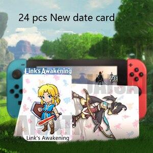 Image 2 - マリオカート 8 デラックス息野生ゼルダ amiibo ゲームカードのスーパースマッシュブラザーズリンクスイッチ NFC カードスーパーオデッセイ
