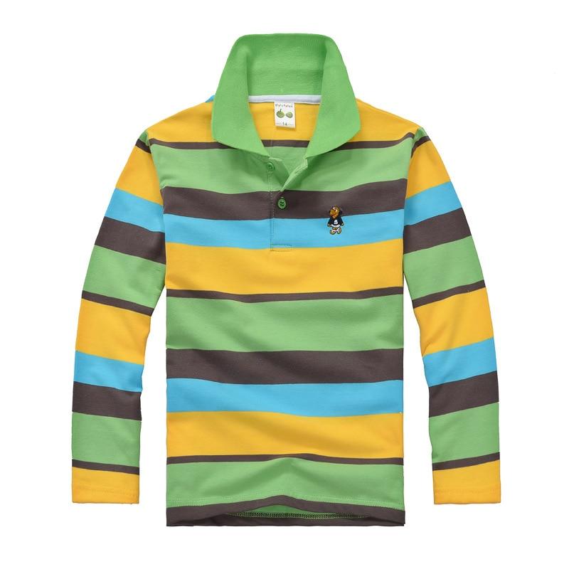 2-16Years Children Kids Tops T Shirt New Spring Baby Boy Girls Long Sleeve T Shirt Cotton Teenager Children Shirts Clothes 1