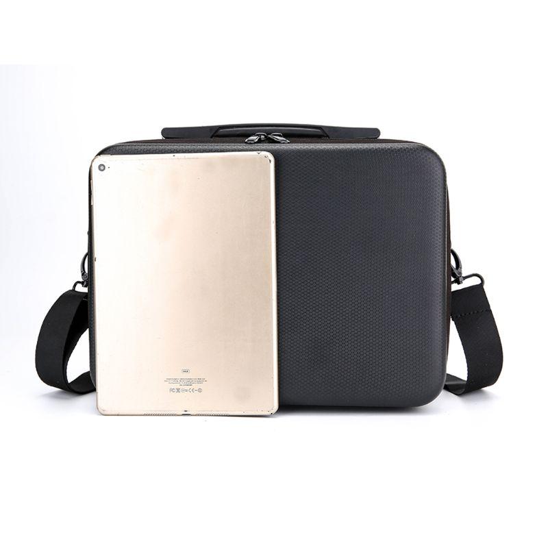 1pc preto bolsa de ombro portátil caixa