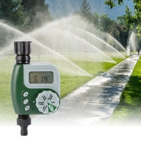 Automatic Electronic Watering Timer Home Garden Irrigation Solenoid Valve Controller LCD Digital Watertimer Autoplay Irrigator|Garden Water Timers| |  -