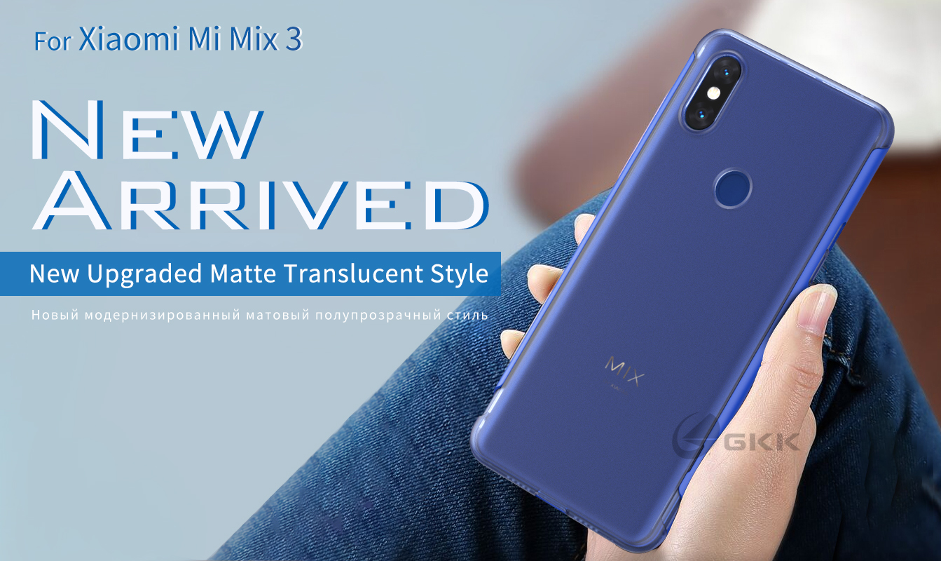 Hf38b444e02dd4d1fb11ac11cea4fd0d82 GKK Original Case for Xiaomi Mi Mix 3 Case Slide Armor Anti-drop 2 in 1 Hard Matte Back Cover for Xiaomi mi mix3 Case Fundas