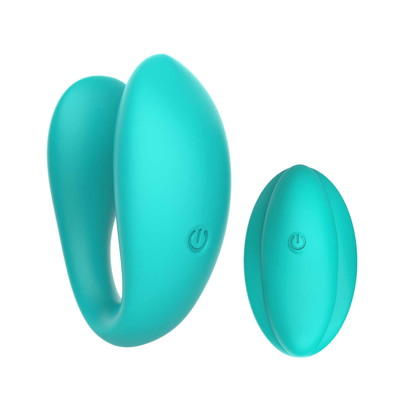 Kobiet mini wodoodporne wibracyjne jaj cieczy all-inclusive z tworzywa sztucznego w stylu U wibrujące jajko. Łazienka zabawy zdalnego zawór kulowy