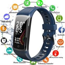 Super Smart Bracelet Watch Men Women Blood Pressure Fitness Bracelet Pedometer Heart Rate Monitor Waterproof Smart Wristband
