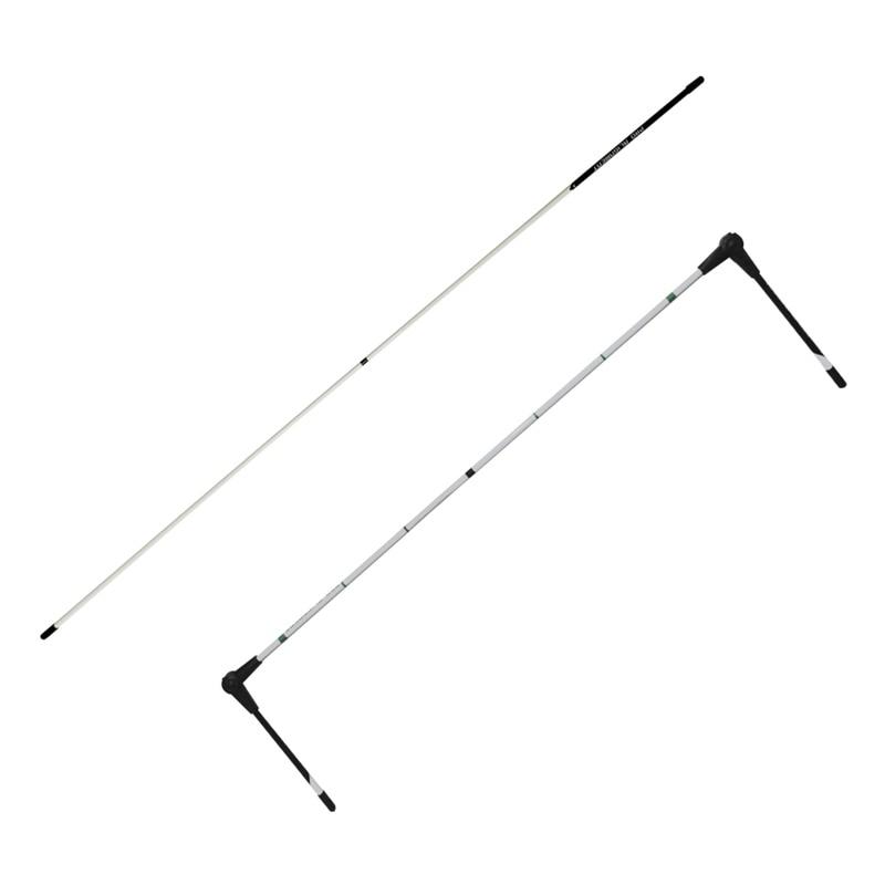 Magnetic Club Alignment Stick/ Correct Golf Swing Aim Line Angle Tool Golf Swing Training Aid Direction Indicator Golf Equipment