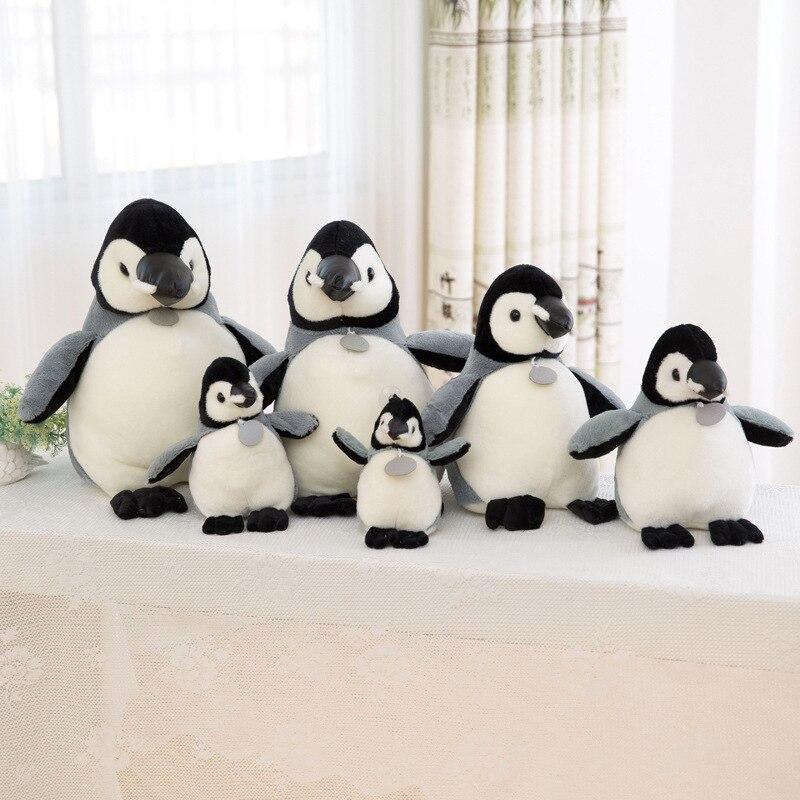Penguin Plush Toy Animal Plush Dolls Winter Kids Room Decor Christmas Gifts Penguin Family Stuffed Animals Plush Toy For Kids