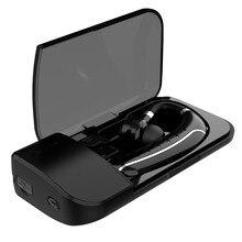 GDLYL zaczep na głośnomówiący bezprzewodowy zestaw słuchawkowy Bluetooth zestaw słuchawkowy Bluetooth słuchawki wkładka douszna z mikrofonem etui na słuchawki dla IPhone Xiaomi
