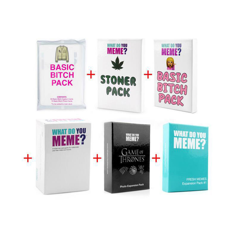 Adult Party Cards Board Game Toys YOU MEME First Generation 2nd Generation 3rd Generation Extended Interactive Toys