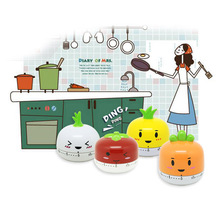 60 Minute Cartoon Time To Plan Cooking Timer Egg  Mechanical Egg Timer Cooking Children Timer Kitchen Accessory Gadgets e74 cute 60 minute ladybug timer easy operate kitchen useful cooking timer ladybird shape