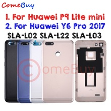 US $7.99 |for Huawei P9 Lite mini Battery Cover Rear Door Y6 Pro 2017 Back Housing Case P9 Lite mini Battery Cover SLA L02 L22 L03-in Mobile Phone Housings & Frames from Cellphones & Telecommunications on AliExpress - 11.11_Double 11_Singles' Day