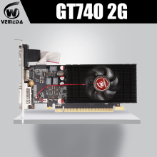 VEINEDA Scheda Video Nuova Scheda Grafica GT740 2GB GDDR5 128BIT Gaming Desktop del computer PC Video