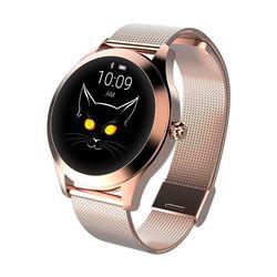 Senhora feminino relógio inteligente b57 smartwatch rastreador de fitness b57 pulseira inteligente relógio de monitoramento de freqüência cardíaca banda inteligente para android ios
