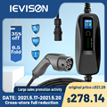 IEVISON Type 2 EV Charger Level 32 Amp Portable Electric Vehicle CEE Plug 220V-240V EVSE Car Charging Cable, IEC 62196-2 6M