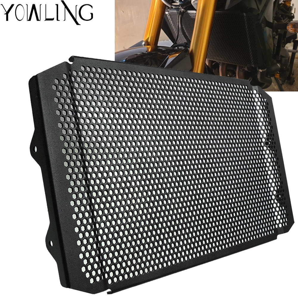 MT-09 2017-2019 XSR 900 Aluminum alloy Water Cooler Radiator Grille Radiator Guard Protector For Yamaha MT09 MT 09 2017-2019 XSR900 XSR 900 2016-2019