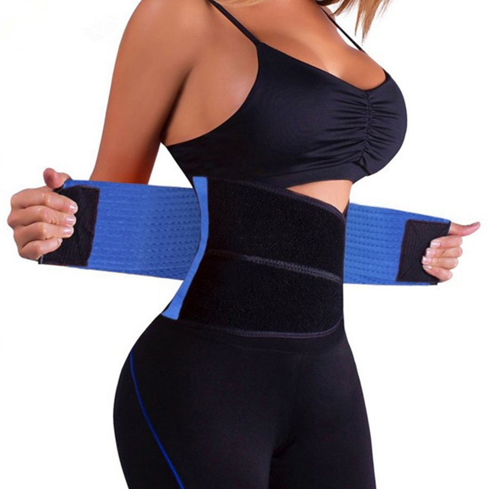Women Waist Trainer Corset Shapers Slimming Belt Modeling Strap Body Shaper Slimming Corset Waist Belt Neoprene Lumbar Back Belt