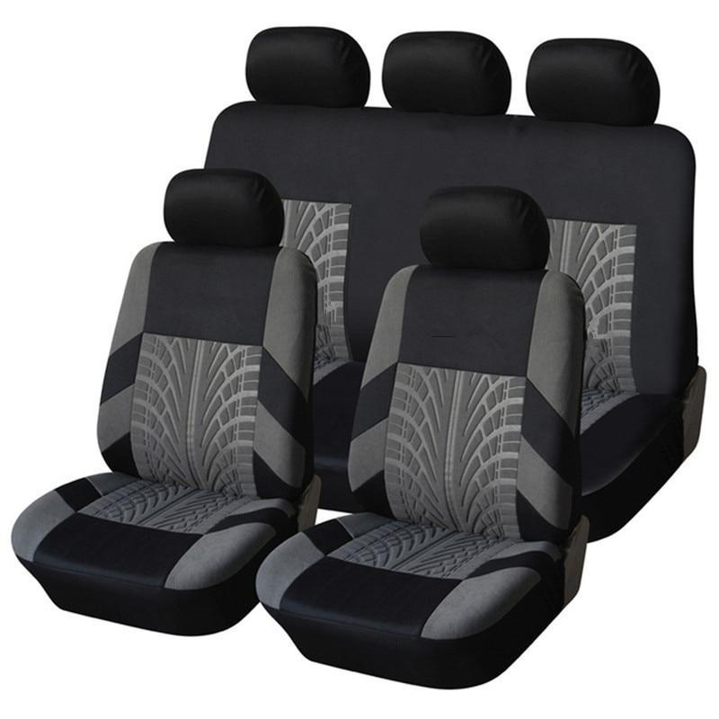CITROEN Pair of RED WATERPROOF Car Seat Covers AX C1 C2 C3 Picasso C4 Cactus