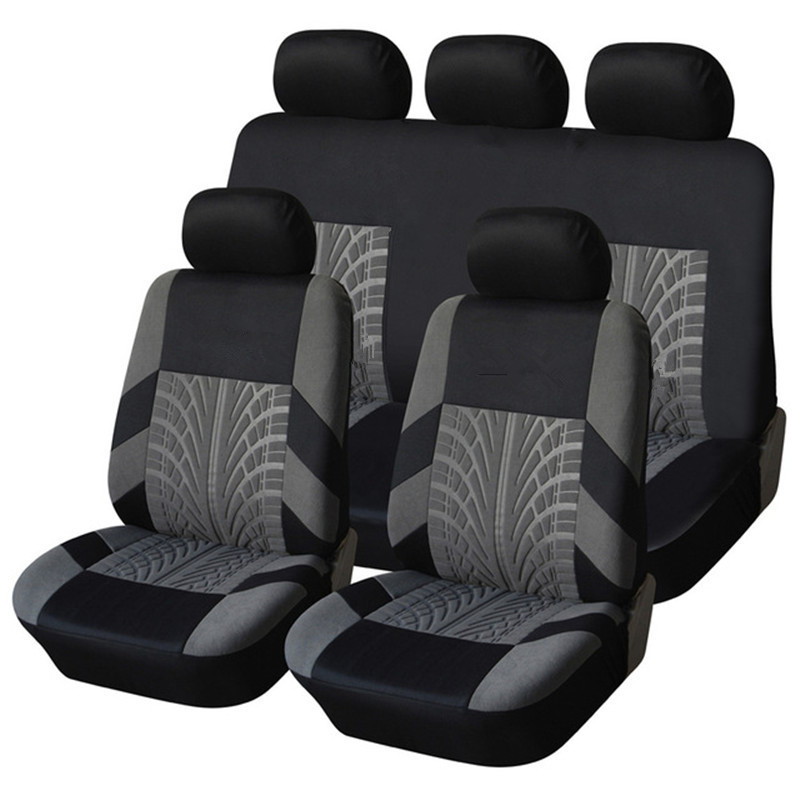 Embroidery Car Seat Covers for SUBARU Forester Outback Legacy Wrx WRX Impreza BRZ Tribeca 2002-2019s Auto Seat Protect Covers image