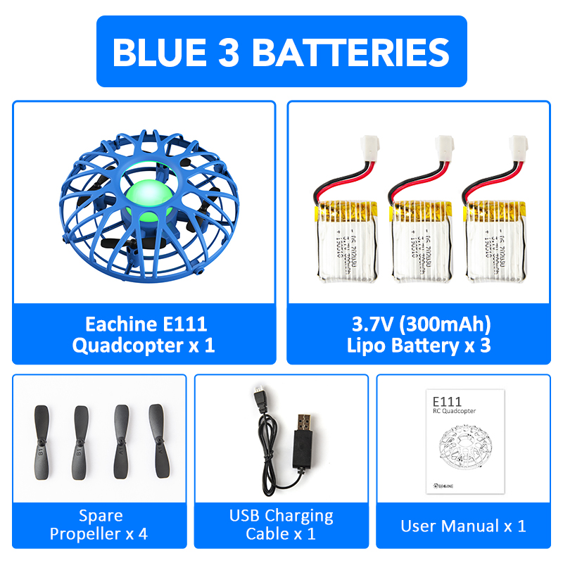 Blue 3 Battery
